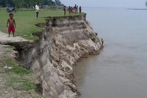 Impacts of river bank erosion on char livelihood and its adaptation techniques